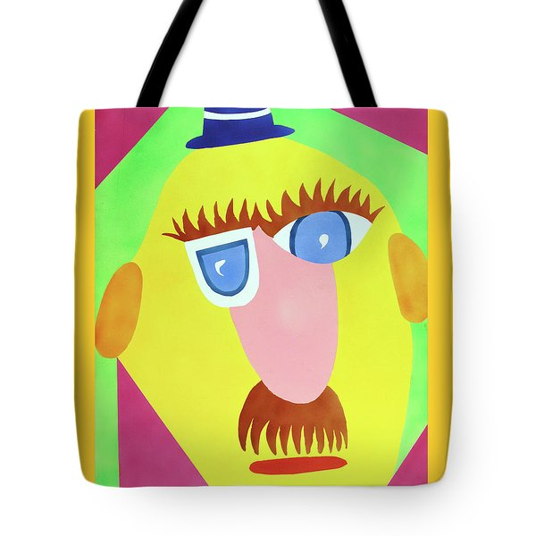 Tote Bag featuring the painting Mr. Strangefellow by Thomas Blood