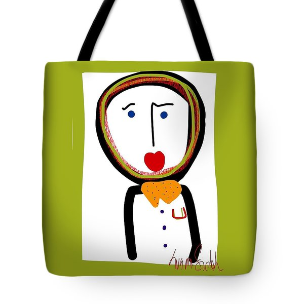 Mr. Tidy Boy Tote Bag