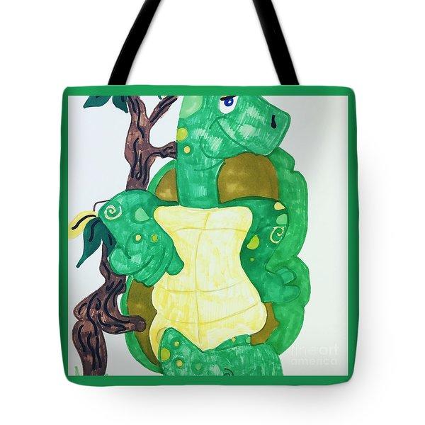 Mr. Turtle  Tote Bag