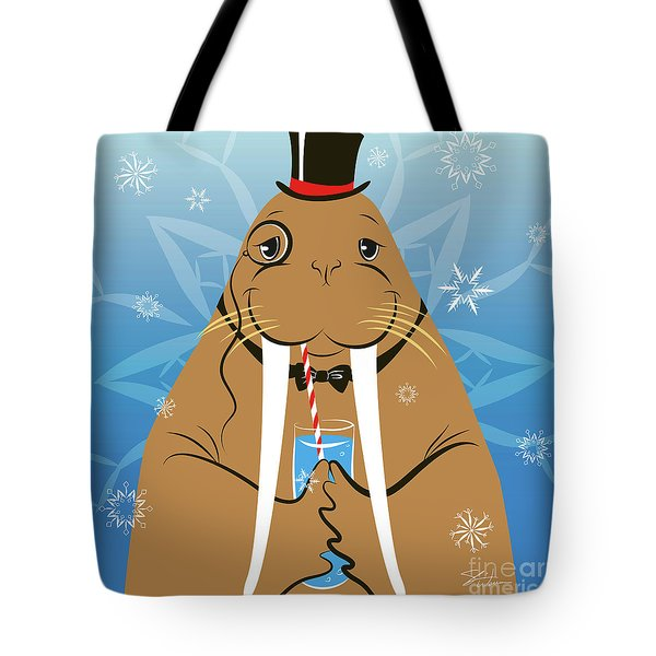 Mr. Walrus Tote Bag