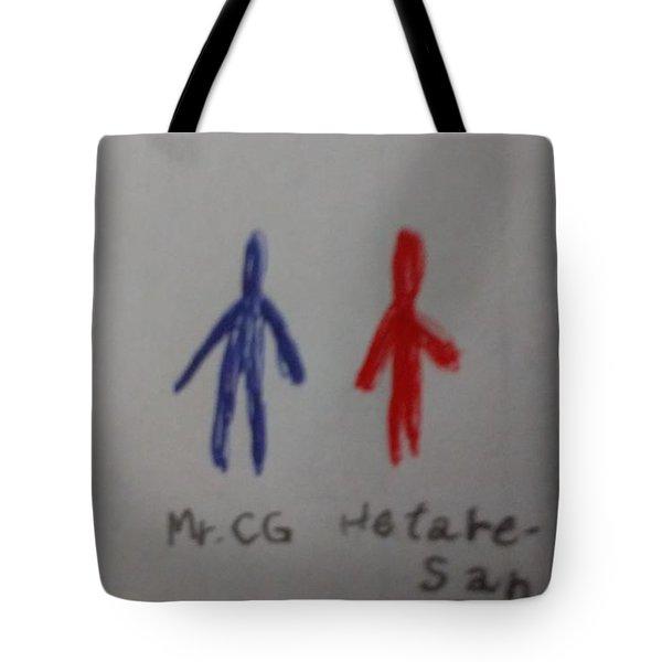Mr.cgandhetare-san Tote Bag