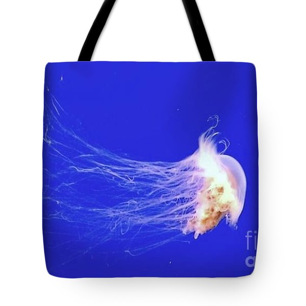 Mr.jelly Tote Bag by Vanessa Palomino