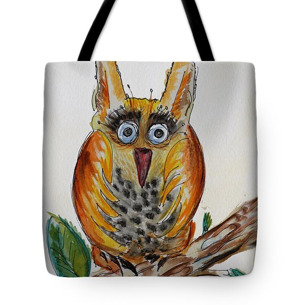 Mr.orange Owl Tote Bag