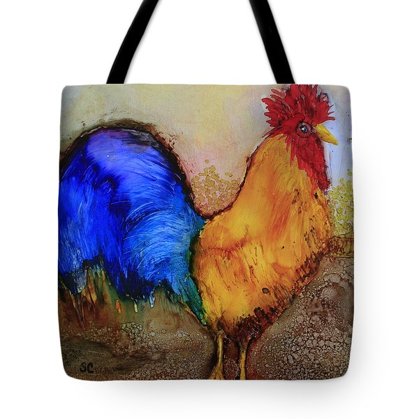 Mr.rooster Tote Bag by Suzanne Canner