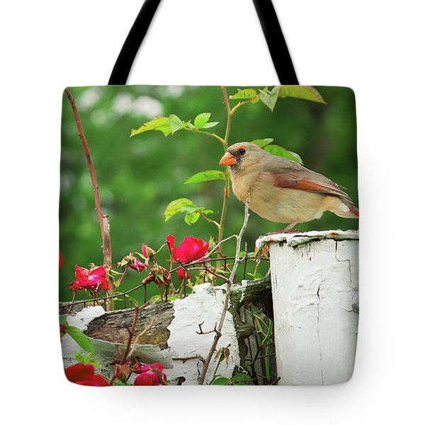 Mrs. Cardinal Tote Bag