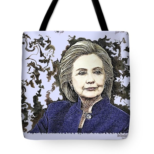 Mrs Hillary Clinton Tote Bag