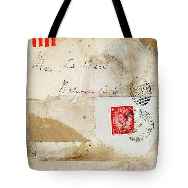 Mrs. Laban Collage Tote Bag