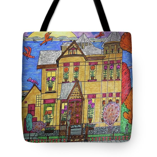 Mrs. Robert Stephenson Home. Tote Bag