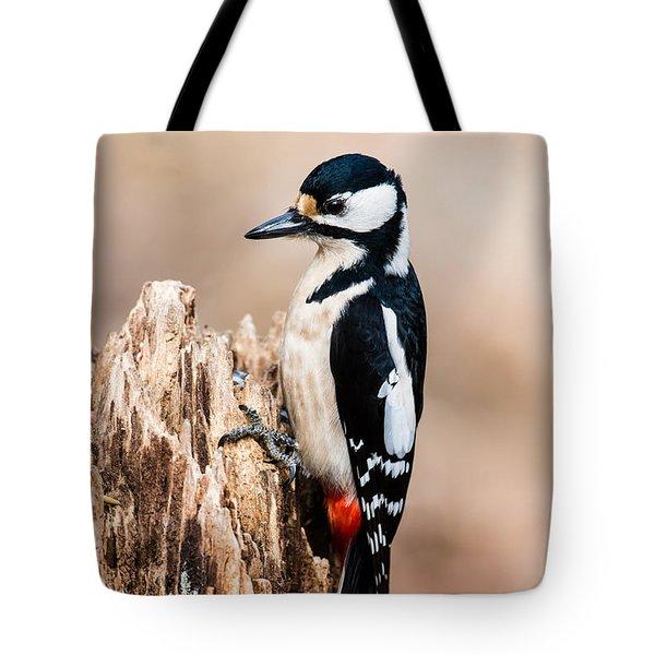 Mrs Woodpecker Tote Bag