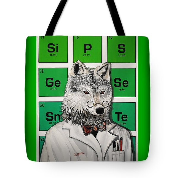 Tote Bag featuring the painting Mr.tulamordue by Jude Labuszewski