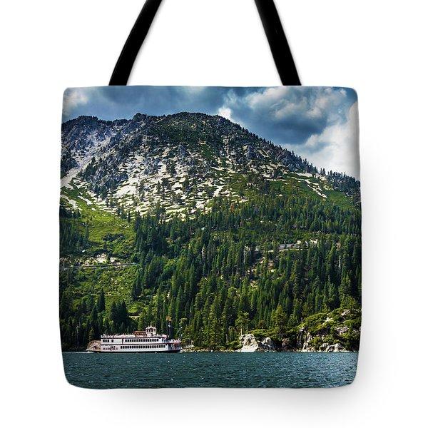 M.s. Dixie II, Lake Tahoe, Ca Tote Bag