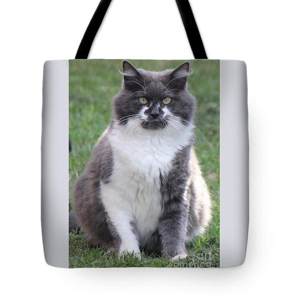 Ms. Mustache Tote Bag