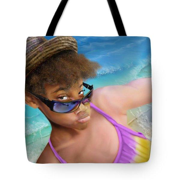 Ms. Sophie D Tote Bag by Reggie Duffie