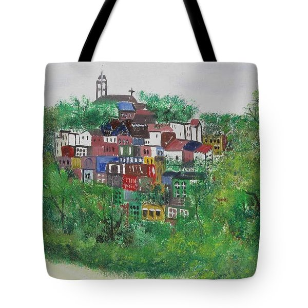 Mt. Adams  Cincinnati Ohio Tote Bag