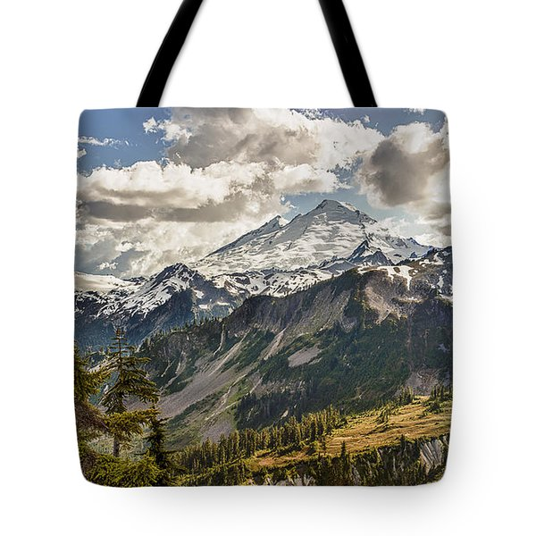 Mt Baker Panoramic Tote Bag
