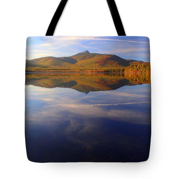 Mt. Chocorua In Blue Tote Bag