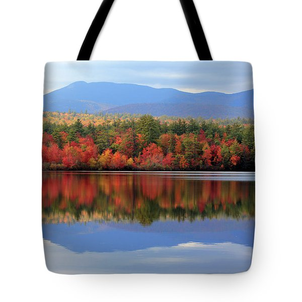Mt. Chocorua Reflections I Tote Bag by Lynne Guimond Sabean