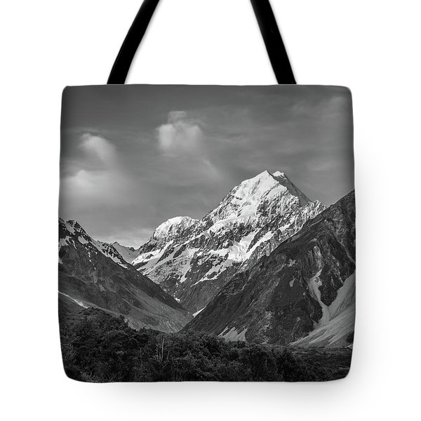 Mt Cook Wilderness Tote Bag