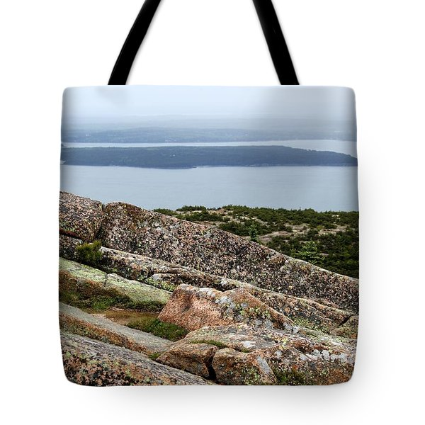 Mt. Destert Island View Tote Bag