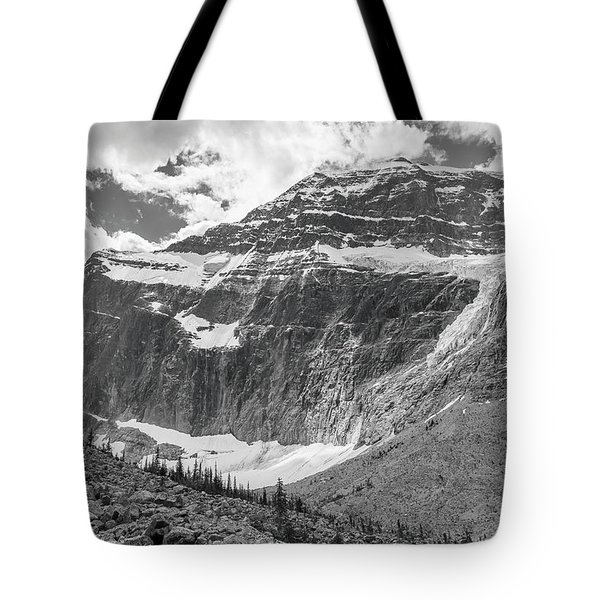 Mt. Edith Cavell Tote Bag