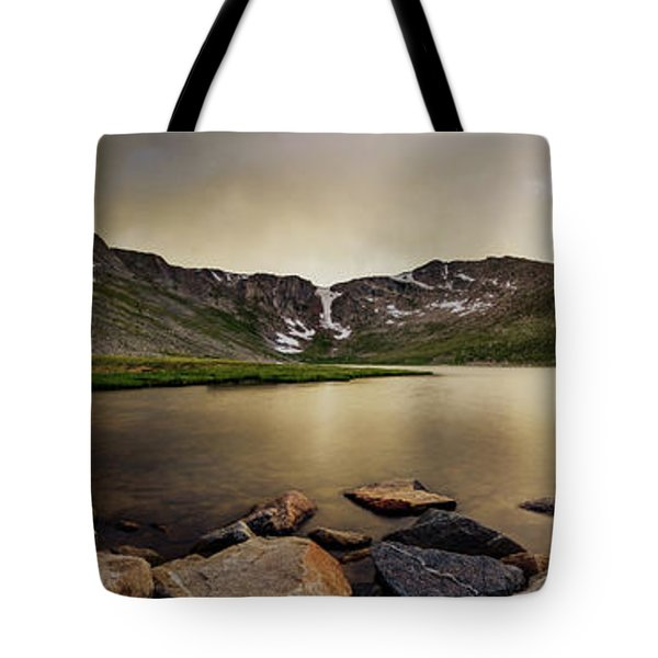 Mt. Evans Summit Lake Tote Bag