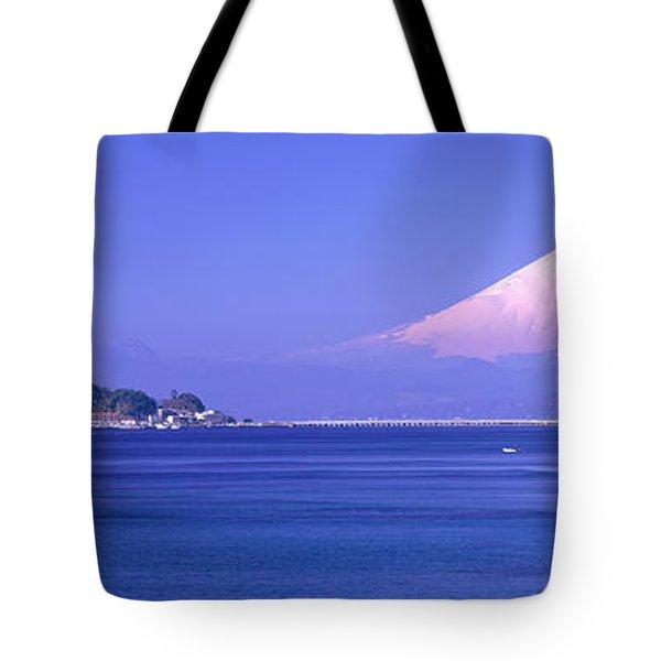 Mt Fuji Kanagawa Japan Tote Bag