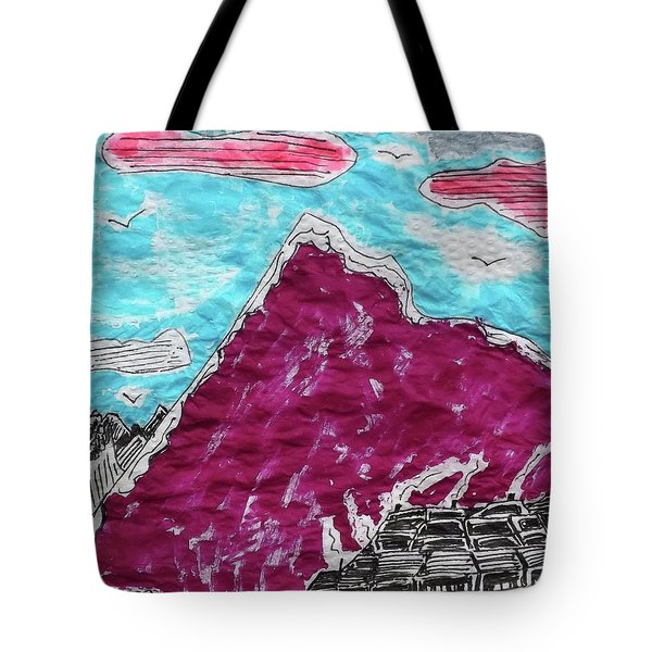 Mt. Fuji Village  Tote Bag