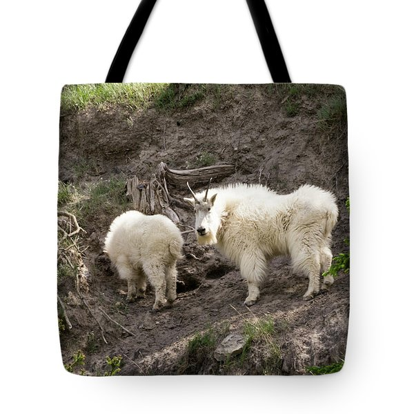 Mt Goat Outing Tote Bag