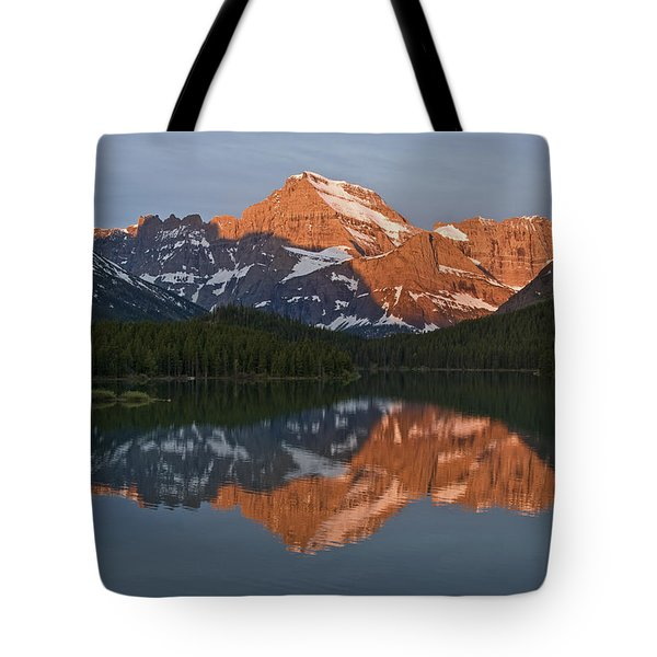 Tote Bag featuring the photograph Mt. Gould by Gary Lengyel
