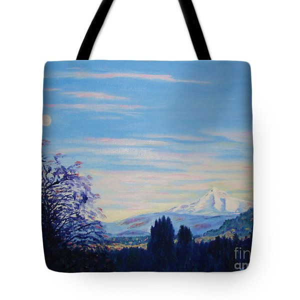 Mt Hood A View From Gresham Tote Bag