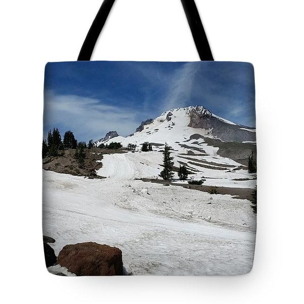 Mt. Hood In June Tote Bag