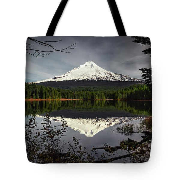 Mt Hood Reflection Tote Bag