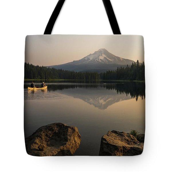 Mt Hood Sunrise  Tote Bag