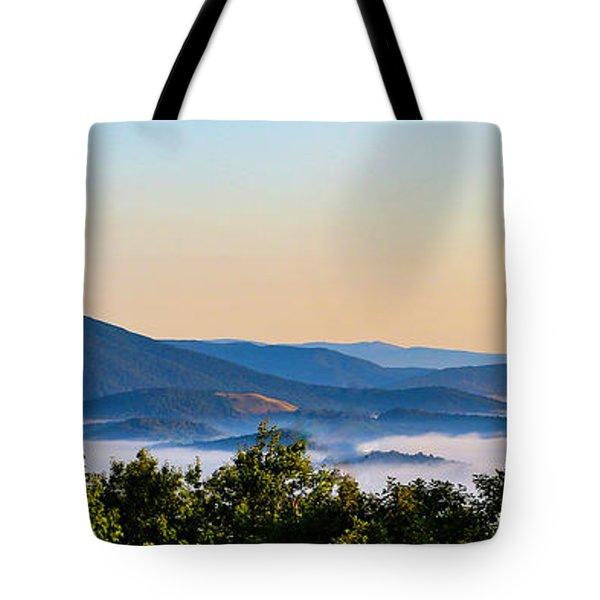 Mt. Jefferson Cloud Lake Tote Bag