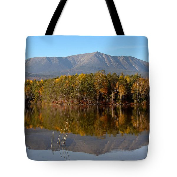 Mt Katahdin Baxter State Park Fall 1 Tote Bag