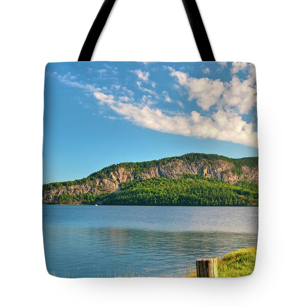 Mt Kineo 1504 Tote Bag by Guy Whiteley