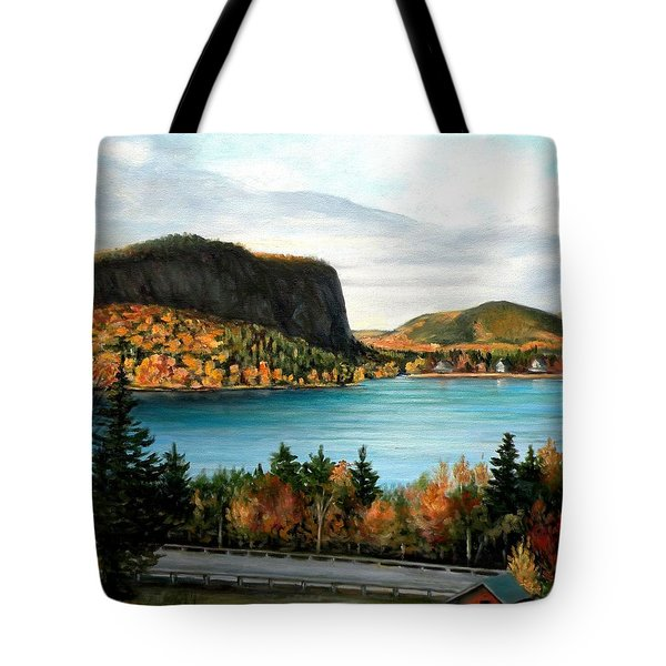 Mt. Kineo, Moosehead Lake, Maine Tote Bag