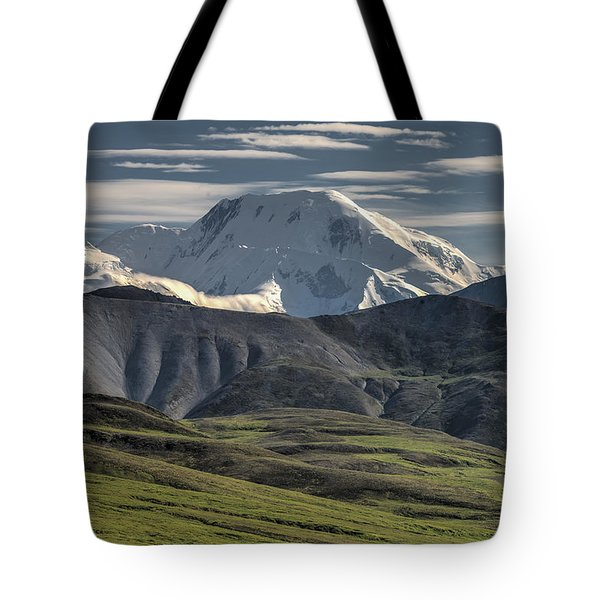 Tote Bag featuring the photograph Mt. Mather by Gary Lengyel