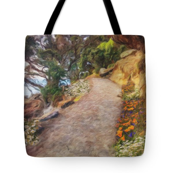 Mt. Maunganui Base Walk Tote Bag
