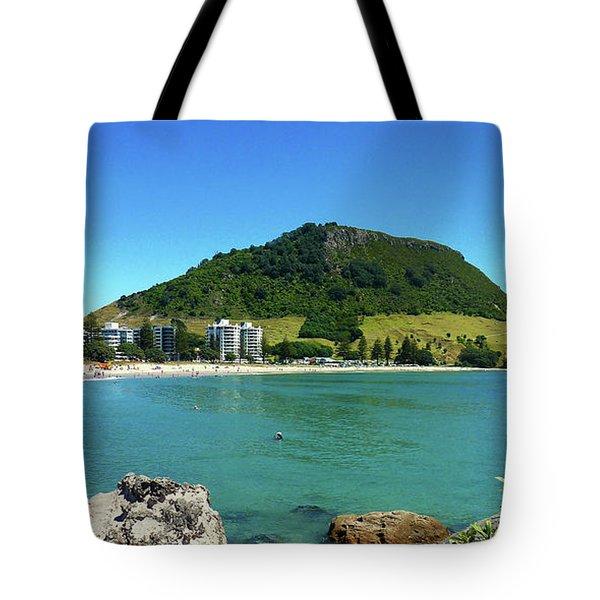 Mt Maunganui Beach 7 - Tauranga New Zealand Tote Bag