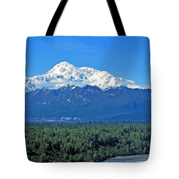 Denali, Aka Mt. Mckinley  Tote Bag