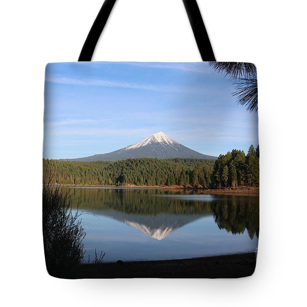 Mt Mclaughlin Or Pitt Tote Bag