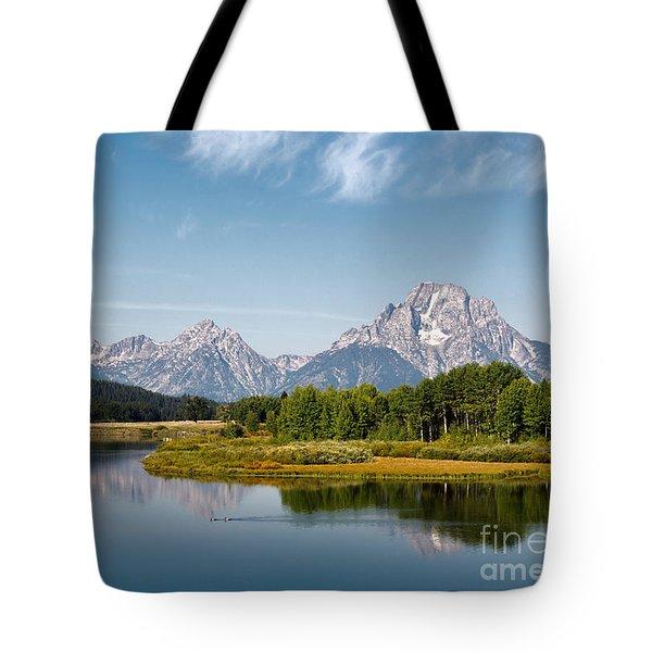 Mt Moran Tote Bag