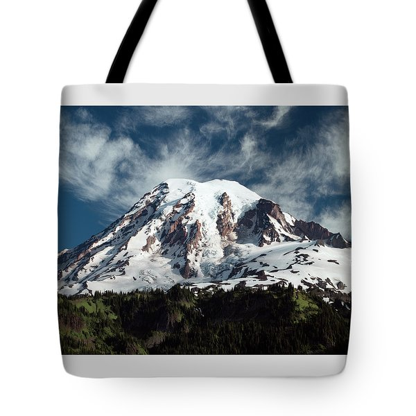 Mt Rainier - Washington State Tote Bag