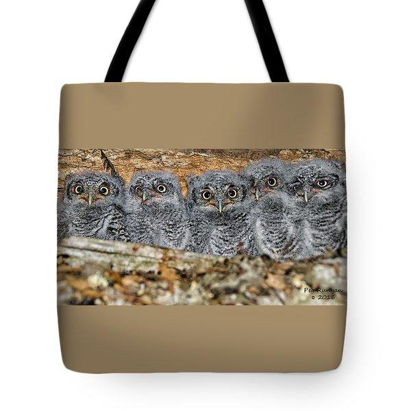 Mt. Rushmore Mimics Tote Bag