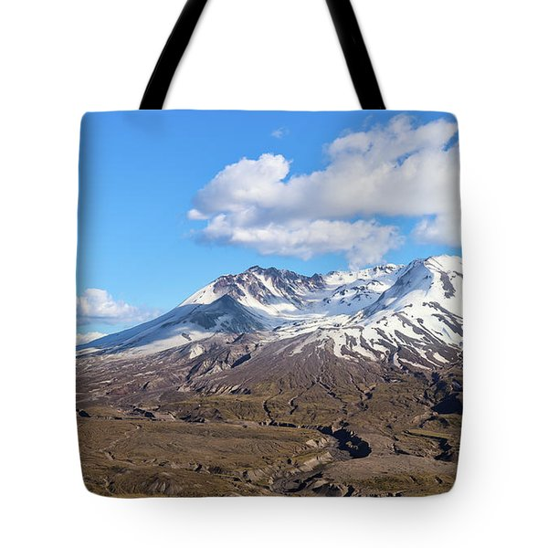 Tote Bag featuring the photograph Mt Saint Helens by Robert Bellomy