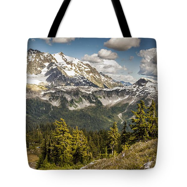 Mt Shuksan Panoramic Tote Bag