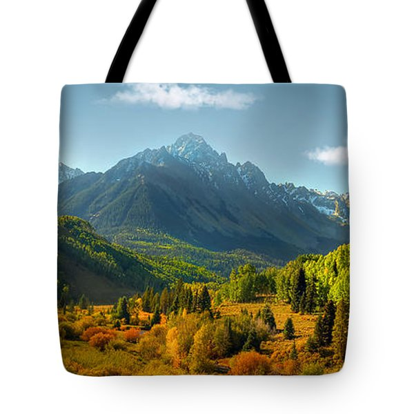 Mt Sneffels Panorama Tote Bag