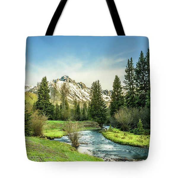 Mt. Sneffels Peak Tote Bag