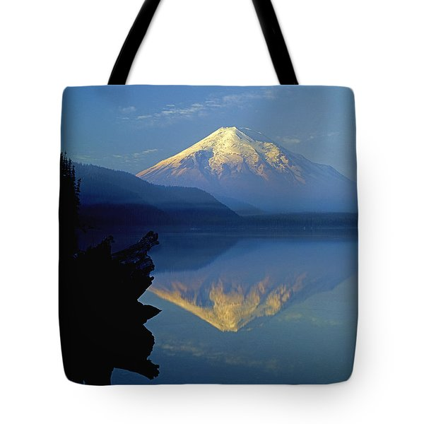 1m4907-v-mt. St. Helens Reflect V  Tote Bag